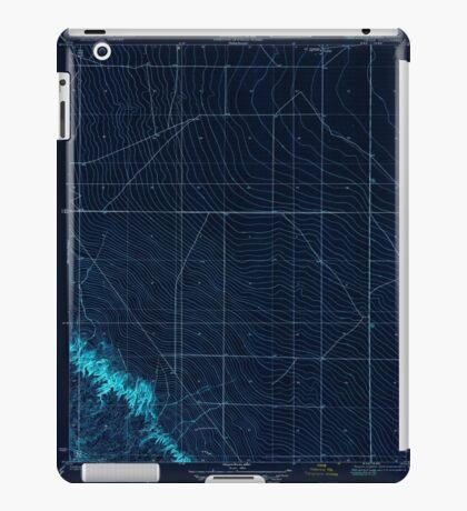 USGS TOPO Map California CA Levis 296245 1923 31680 geo Inverted iPad Case/Skin