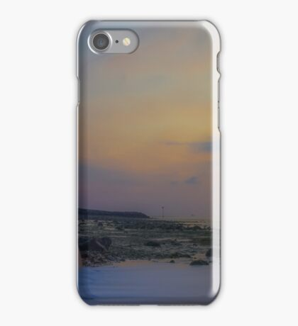 Reculver Towers sunset iPhone Case/Skin