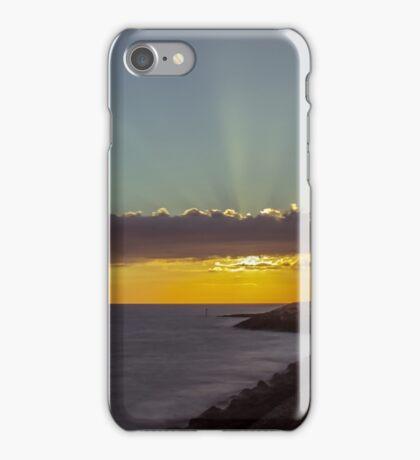 Reculver Towers sunrise iPhone Case/Skin
