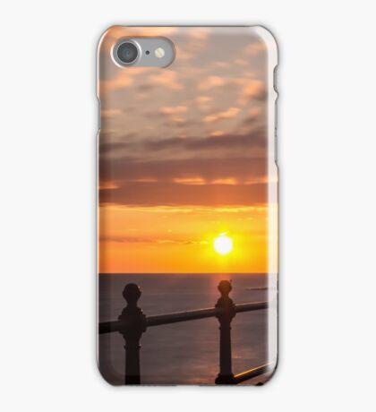 Reculver Towers sunrise 2 iPhone Case/Skin
