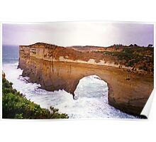 Great Ocean Road, Victoria - Arch in Headland Poster