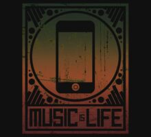 Music is Life: iPod by cluper