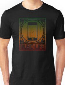 Music is Life: iPod Unisex T-Shirt