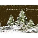 Seasons Greetings Mug by Vickie Emms