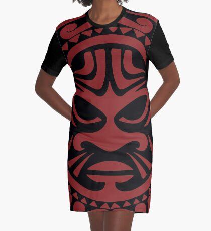 Tribal design from Maori culture Graphic T-Shirt Dress
