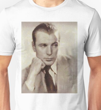 Gary Cooper, Hollywood Actor Unisex T-Shirt