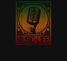 Music is Life: Mic T-Shirt