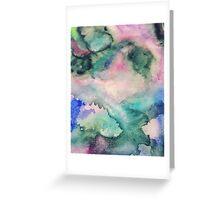 Glitter Galaxy Greeting Card