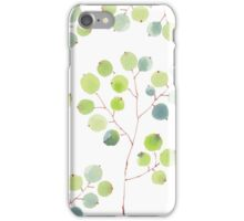 Patterns Everyday | Green leaves in spring iPhone Case/Skin