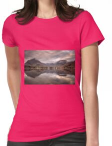 New Day at Buttermere Womens Fitted T-Shirt