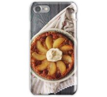 Tarte Tatin with pears iPhone Case/Skin