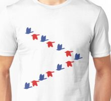 Goose Fly Funny Goose Shirt Unisex T-Shirt