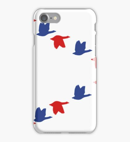 Goose Fly Funny Goose Shirt iPhone Case/Skin