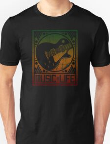 Music is Life: Guitar T-Shirt