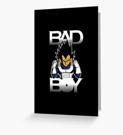 BAD BOY Greeting Card