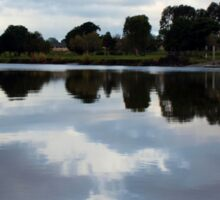 Tweed River Reflections Sticker