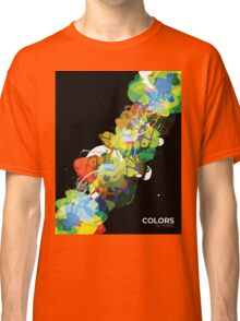 Mixed Media Colors 3 Classic T-Shirt