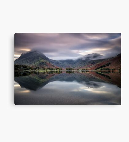 Time Passes on Buttermere Canvas Print