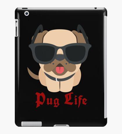 Pug Thug Life Dog Puppy Friend Love Happy iPad Case/Skin