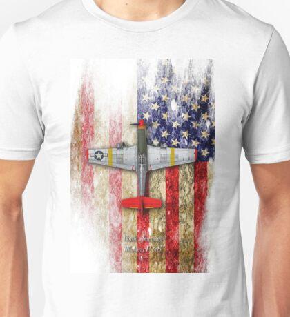 North American Mustang P-51B Unisex T-Shirt