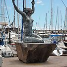 Mermaid in Funchal Madeira by AnnDixon