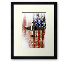 North American P-51 Mustang 'Old Crow' Framed Print