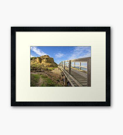 Bishopstone Glen Framed Print