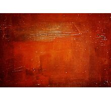 Bright red textured background  Photographic Print