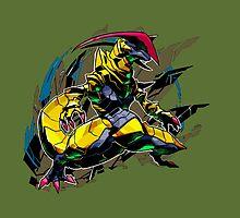 Haxorus Pokemon by KumaGenis