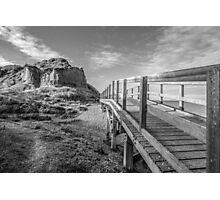 Bishopstone Glen (black and white) Photographic Print