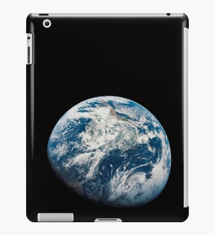 View of Earth taken from the Apollo 8 spacecraft. iPad Case/Skin