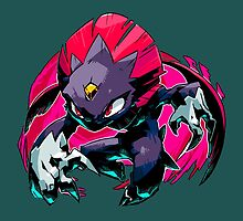 Weavile Pokemon by KumaGenis