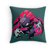 Weavile Pokemon Throw Pillow