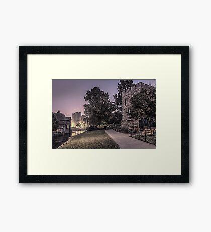 Westgate gardens Canterbury Framed Print