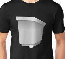 Glitch furniture roomdeco white podium Unisex T-Shirt