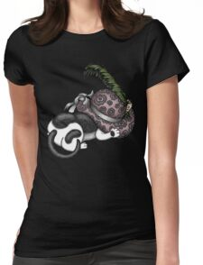 Lady's Lady Hat Womens Fitted T-Shirt