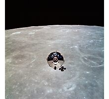 The Apollo 10 Command and Service Modules in lunar orbit. Photographic Print