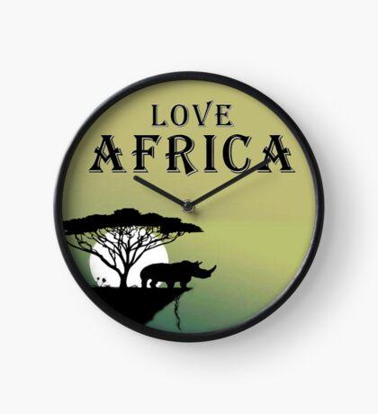 Love Africa Clock