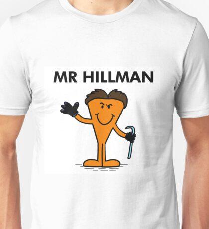 Richard Hillman Serial Killer Coronation Street Unisex T-Shirt
