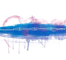 Forth Rail Bridge - Single Line by douglaswood