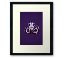Octopus needs love 4 Framed Print