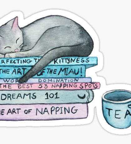 The Art of the Miau Sticker
