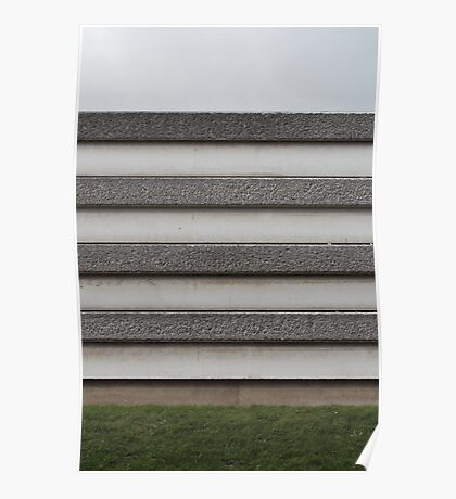 Striped Wall Poster