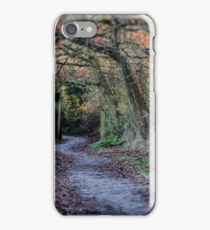 Simply A Path iPhone Case/Skin