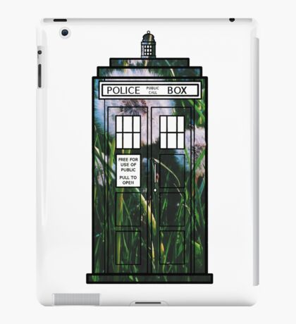 Dandelion TARDIS iPad Case/Skin