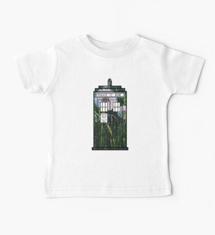 Dandelion TARDIS Baby Tee