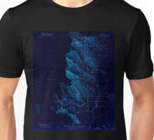 USGS TOPO Map California CA Kurand 296209 1917 31680 geo Inverted Unisex T-Shirt