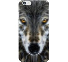 Wolf Inspirational Portrait iPhone Case/Skin