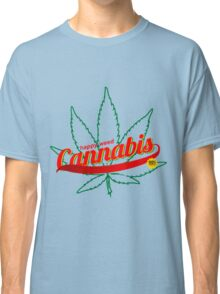 Cannabis Advertisement Color Cannabis Shirts For Men Classic T-Shirt
