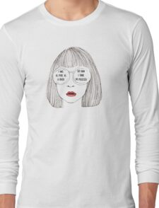 Haunting /  Halsey Long Sleeve T-Shirt
